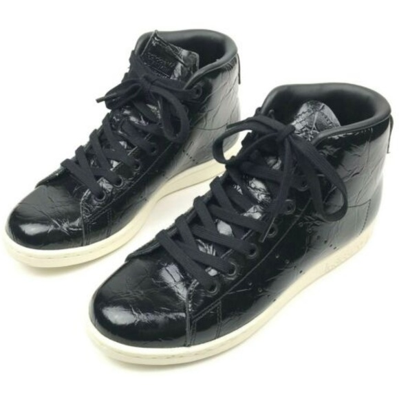 in stock another chance excellent quality Adidas Originals Stan Smith High Top Sneakers